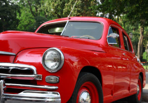 Auto insurance for a classic car