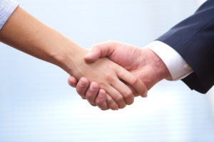Handshake, agreements